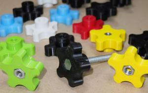 _3D Printed Star Knobs - 6mm