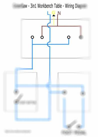 start button and wiring diagram